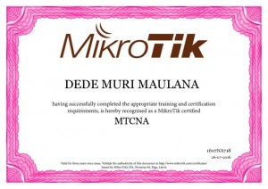SMK Informatika Fasilitasi Alumni  Sertifikasi Internasional