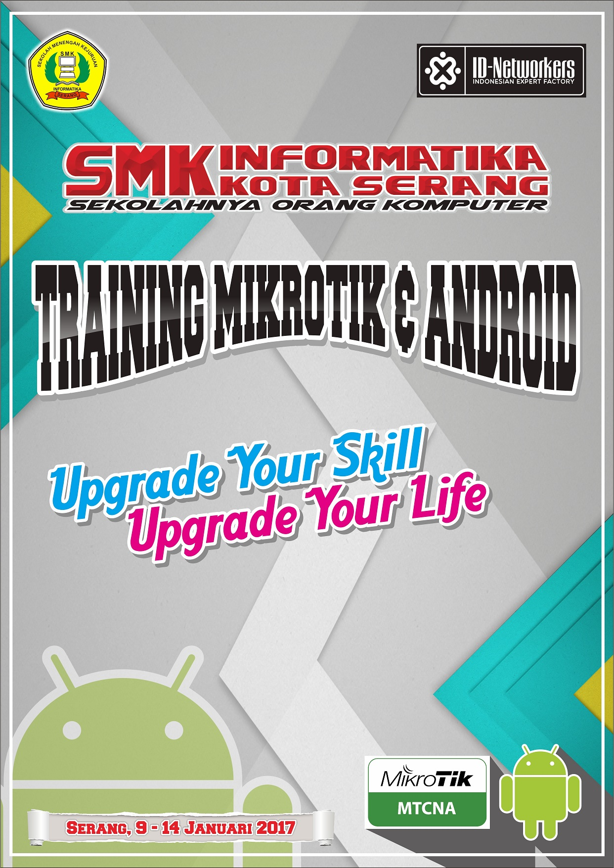 Training Mikrotik dan Android Studio